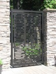Gate - Aluminum with powder coat finish. 4' x 6'