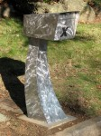Mailbox - Stainless steel